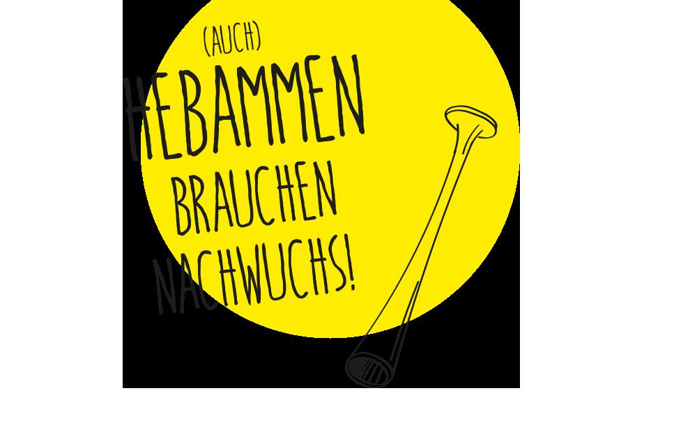 """Headerbild """"Nachwuchs für Hebammen"""""""